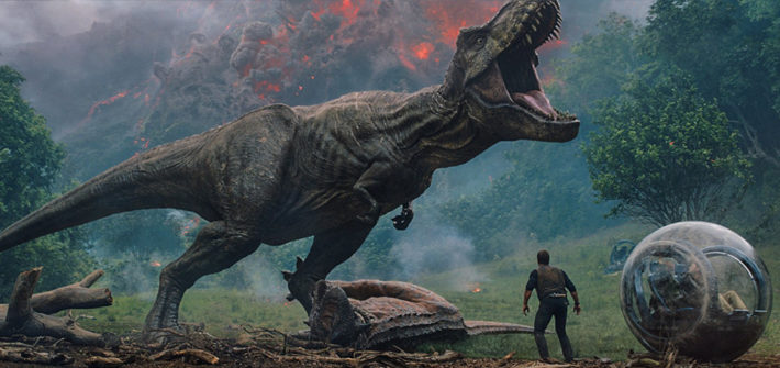 Vulkanausbruch im Trailer zu Jurassic World: Fallen Kingdom