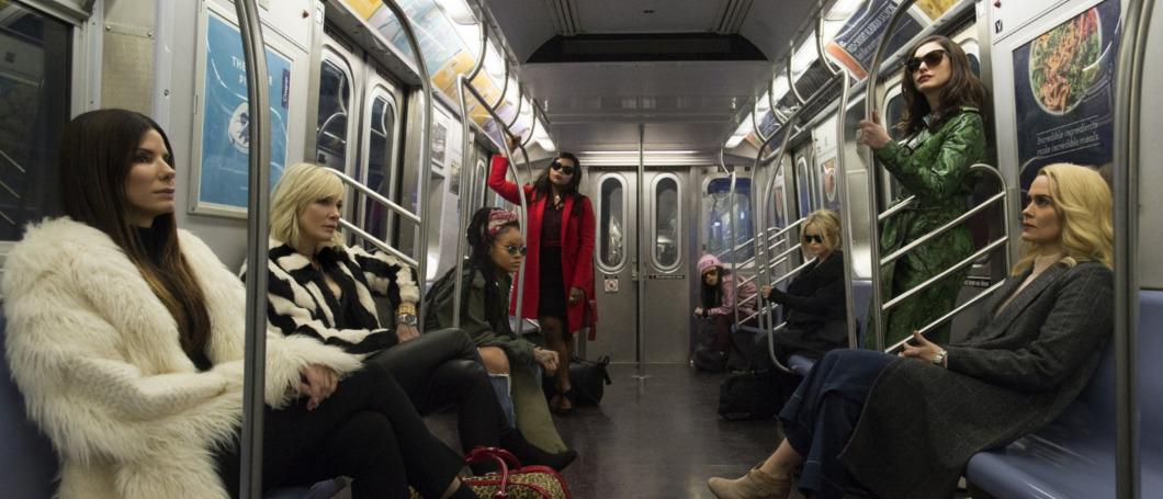 Sandra Bullock & Co. plündern im Ocean's 8-Trailer die Met Gala